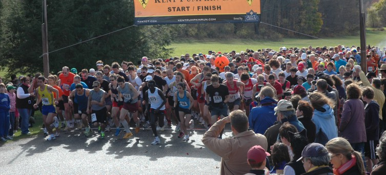 Join us at the annual running of the Kent Pumpkin Run ~ Register Now!